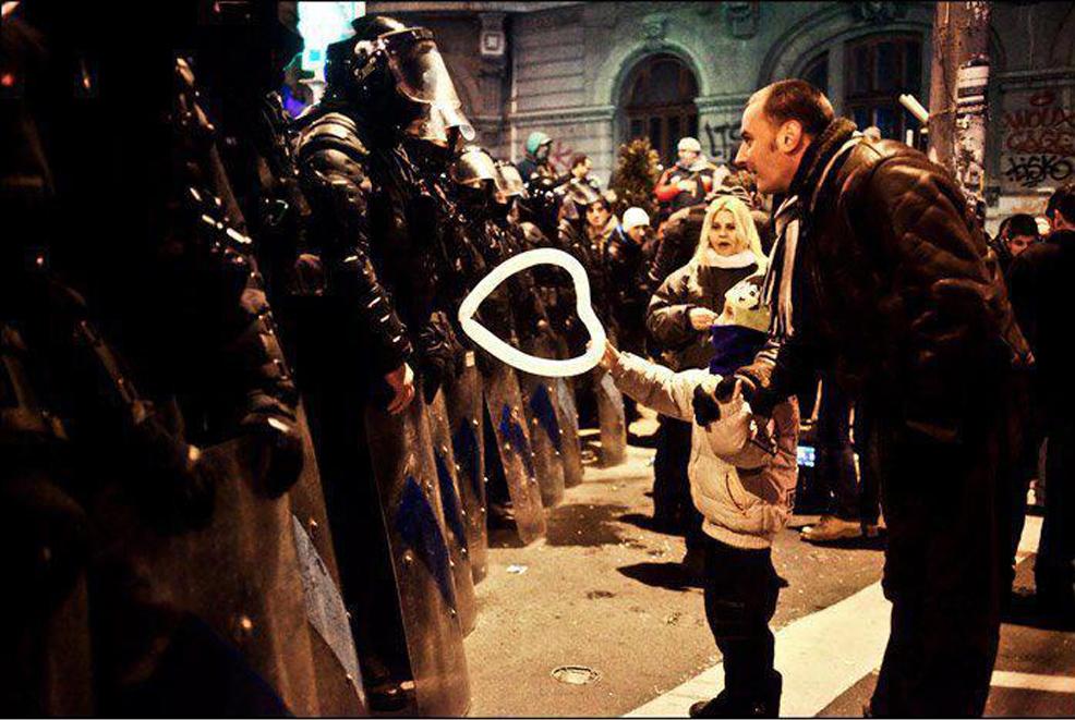 Copil Jandarm Inima Romania