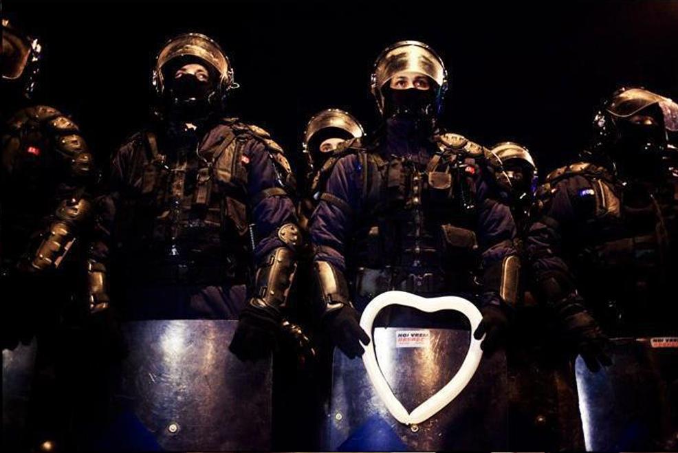 Jandarm Inima Bucuresti 2012 Scut